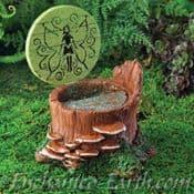 Fiddlehead - Fairy Garden Fairy Hatch - (With Opening door)
