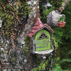 Fiddlehead Fairy Garden Landing Pad Set - (Fairy door & Window Set)