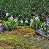 Fiddlehead -Fairy Garden party flower lights
