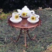 Fiddlehead -Fairy Garden Porcelain Tea Set