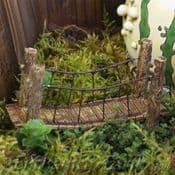 Fiddlehead -  Fairy Garden  Suspension Bridge - 10.5cm