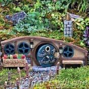 Fiddlehead Fairy House-  Mulberry Burrow