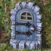 Fiddlehead - Medieval Blue Fairy Door