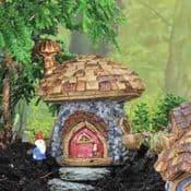 Fiddlehead Micro Mini  -Stone Mushroom Cottage