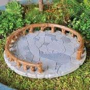Fiddlehead Miniature Garden Patio & Fence