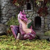 Fiddlehead Miniature Reading Dragon
