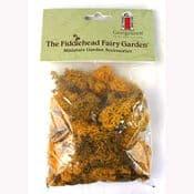 Fiddlehead-Natural Fresh Dyed Reindeer Moss - Autumn Yellow
