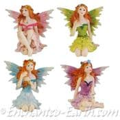 Forest Glade Fairies - 6.5cm - Choose from 4 colours