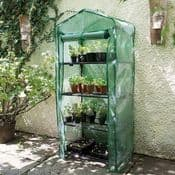 Four Tier Gardeners Growhouse with  strong PVC Cover