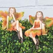 Garden Fairies - Sitting Fairy