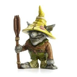 Georgetown - Fiddlehead- Emile The Swamp Troll with Cattails Stake.