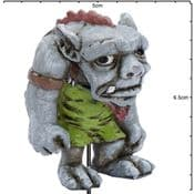 Georgetown - Fiddlehead - Large Harley The Troll with stake - 6cm-