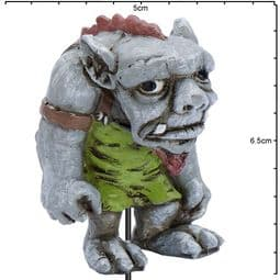 Georgetown - Fiddlehead - Large Harley The Troll with stake - 6cm-.