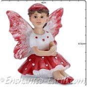 Georgetown - Fiddlehead - Mushroom Fairy - Dottie - 4cm