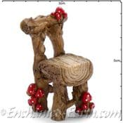 Georgetown Fiddlehead - Mushroom Log Chair - 5cm