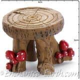 Georgetown Fiddlehead - Mushroom Log Table - 3cm