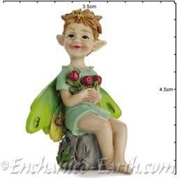 Georgetown - Fiddlehead - Swamp Fairy Boy - Cousin Cranberry  - 4.5cm.
