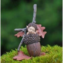 Georgetown - Fiddlehead Woodland Acorn Baby.