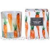 Gisela Graham - Boxed Scented Candle - Carrot & Seed & Thyme