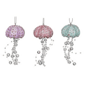 Gisela Graham - Magical Under The Sea Decorations - Beaded Jellyfish