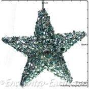 Gisela Graham -  Magical Under The Sea Decorations - Large Beaded Starfish