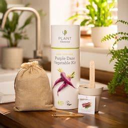 Grow Your Own - Purple Daze Vegetable Kit - Vegan & Plastic Free.