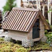 Hand made Woodland Cottage