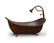 Harville Bath Planter - Large Copper - Zinc  BathPlanter