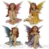 Hedgerow  Fairies -  6cm - Choose from 4 colours - 12 designs