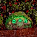 Home Sweet Home - Solar - LED Colour changing Fairy House