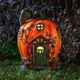 Humpkins - Solar - LED Colour changing Fairy House