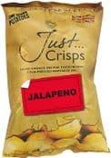 Just Crisps - UK Grown & Made  - Vegan Crisps -  Jalapeno 150g Large Bag