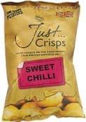 Just Crisps - UK Grown & Made  - Vegan Crisps - Sweet Chilli  150g Large Bag