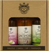 Just Oil - UK Grown & Made - The Just Speciality Gift Pack - 3 bottles
