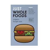 Just Wholefoods -  Organic Vegan Burger Mix - 125g