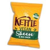 Kettle Chips - Bosh - Vegan Sheese &  Red onion - British Potato Crips