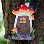 Large 16.5cm Pixie Portal- Toadstool Fairy Door with Magnet
