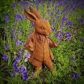Large Cast Iron Mr Rabbit (45cm)