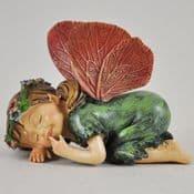 Large Cute  Baby Fairy - Fairy asleep  - 9cm
