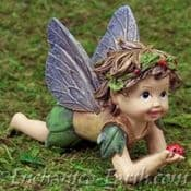 Large  Cute Baby Fairy - Look what i have found! - 12.5cm