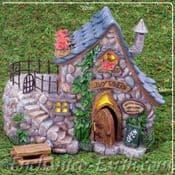 Large  Fairy House - The Ivy Tavern - Fairy Garden Pub - 22cm
