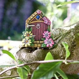 Large Whimsy Gates - Fairy  Cottage Fairy Door - 15cm .