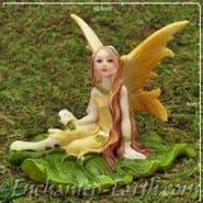 Large Lemon Leaf Fairy - 10cm