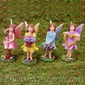 Large Pretty Fairy Dell Fairies - (4 to choose from) - 11cm