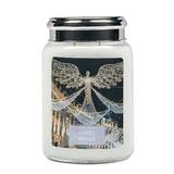 Large  Scented Candle - Christmas -  Angels Wings - Elderflower & Sparkling Citrus