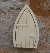 Large Solid Marble Magical Fairy Door