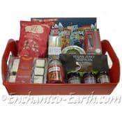 Large Vegan Christmas Treat  Hamper -  40cm Eco Hamper