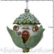 Leaf Cottage - Fairy House Hanging Decorations - 12cm