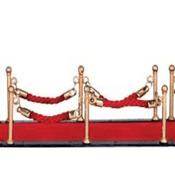 Lemax Village -Miniature Red Carpet-  Set of 7 pieces.