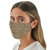 Leopard  Print Mask -   Face Mask /Face Covering